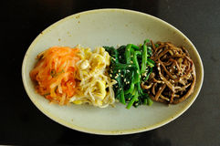 Vegetable Side Dish. Recipes , Japanese BBQ stock image