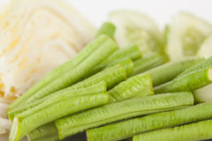 Vegetable side dishes Royalty Free Stock Images