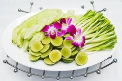 Vegetable side dishes Royalty Free Stock Photos