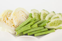 Vegetable side dishes Stock Photography