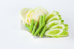 Vegetable side dishes Royalty Free Stock Photography