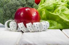 Vegetable slimming healthy food full of vitamins Stock Image