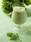 Vegetable  smoothie Stock Photography