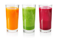 Vegetable smoothie royalty free stock photography