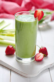 Vegetable smoothie Royalty Free Stock Image