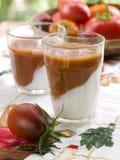 Vegetable smoothie Royalty Free Stock Photos