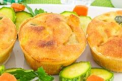 Vegetable soufflé Stock Photography