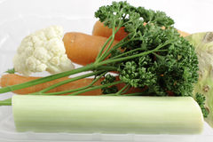 Vegetable for soup Royalty Free Stock Image