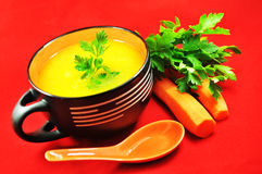 Vegetable soup Stock Photography