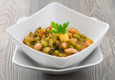 Vegetable soup. Stock Image