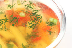 Vegetable soup Stock Image
