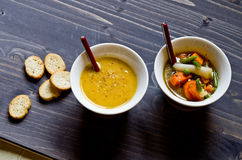 Vegetable soup Royalty Free Stock Photos