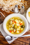 Vegetable soup. Stock Photography