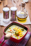 Vegetable soup. Stock Images