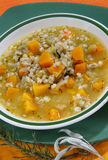 Vegetable Soup With Pumpkin Royalty Free Stock Photography