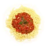 Vegetable spaghetti Stock Photos