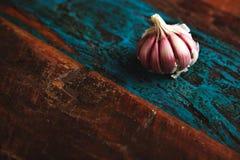 Vegetable spicies деревенской поверхности Стоковое фото RF