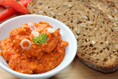 Vegetable spread Stock Images