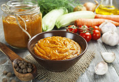 Vegetable spread Stock Photo