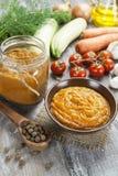 Vegetable spread Stock Image