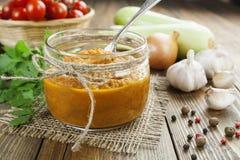 Vegetable spread Stock Photo