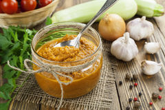 Vegetable spread Stock Photos