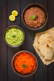 Vegetable Spreads Stock Image