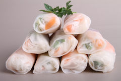 Vegetable spring roll Royalty Free Stock Image