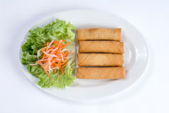 Vegetable spring rolls Royalty Free Stock Photography