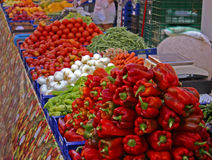 Vegetable Stall Stock Images