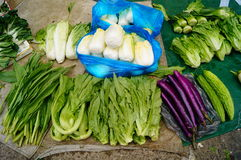 Vegetable stalls Royalty Free Stock Photography