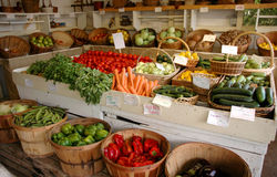 Vegetable stand royalty free stock images