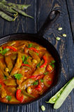 Vegetable stew with beans Royalty Free Stock Images