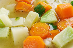 Vegetable stew with celery root Royalty Free Stock Photo