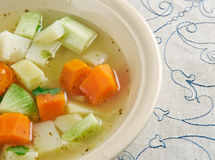 Vegetable stew with celery root Royalty Free Stock Photography