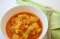 Vegetable stew Stock Images