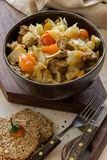 Vegetable stew with meat and potato Stock Photography