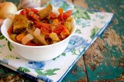 Vegetable stew Stock Photo