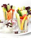 Vegetable sticks Stock Images