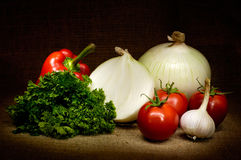 Vegetable Still Life Stock Photo