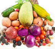 Vegetable still-life. Stock Images