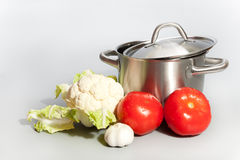 Vegetable still-life Stock Photos