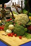 Vegetable still life Stock Photography