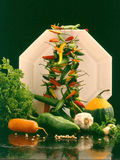 Vegetable still life. Still life photo of some vegetables Royalty Free Stock Photos