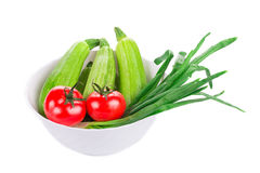 Vegetable still life. Royalty Free Stock Image
