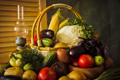 Vegetable still life Stock Image