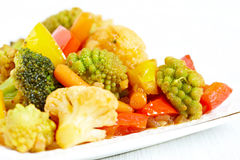 Vegetable stir fry Royalty Free Stock Photo