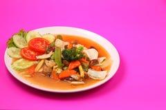 Vegetable stir fry Stock Photos