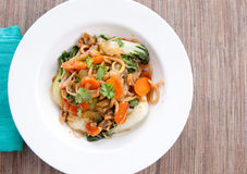 Vegetable stir fry Royalty Free Stock Images