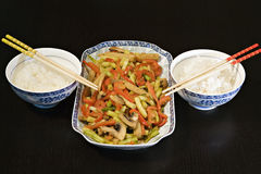 Vegetable Stirfry. Asian Stirfry Royalty Free Stock Photography
